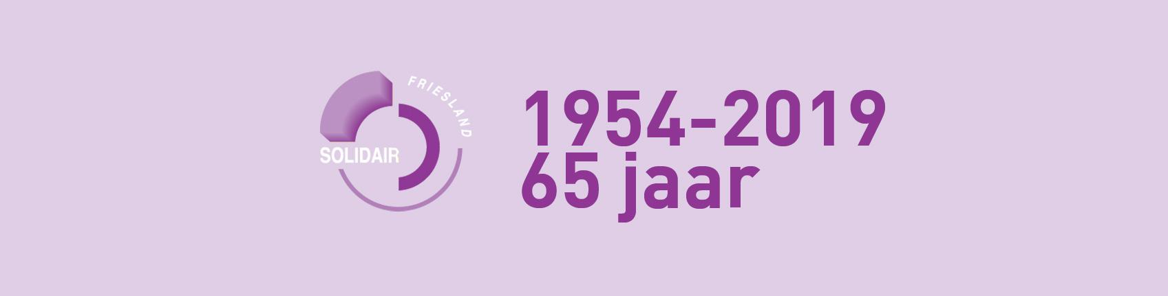 Solidair Friesland 65 jaar, 1954-2019
