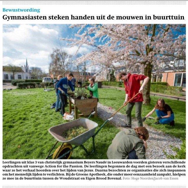 The Action knipsel Friesch Dagblad