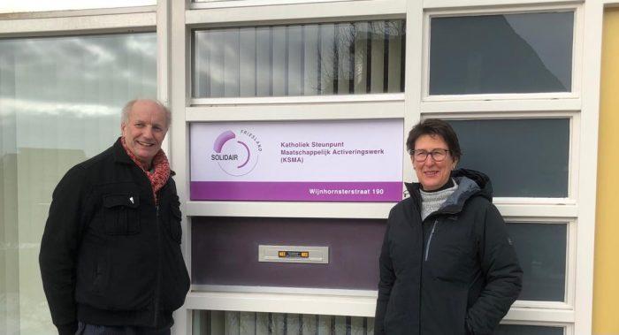 Tijdelijk bezoekadres Solidair Friesland: Wijnhornsterstraat 190
