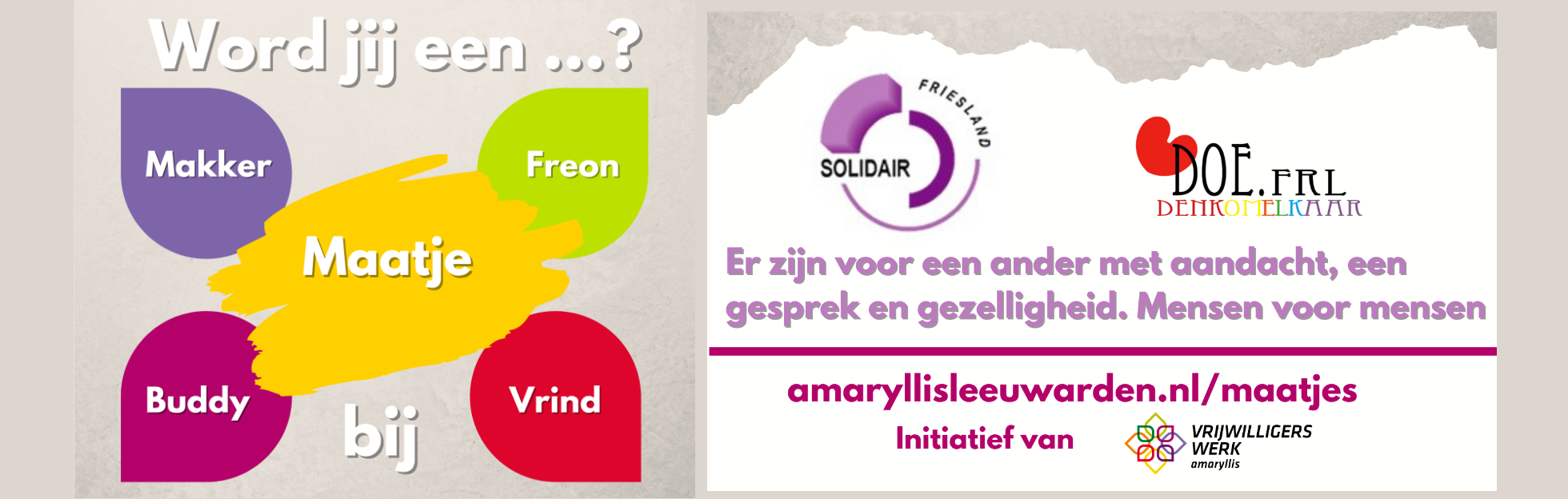 Maatjes project