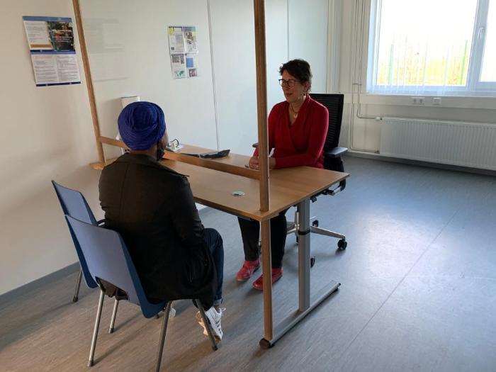 Kennismaking in AZC